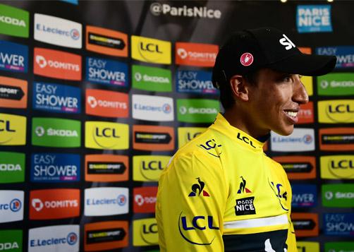 Egan Bernal remporte la 77ème édition du Paris-Nice