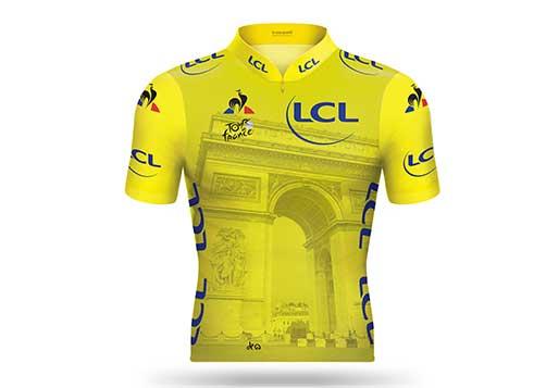 20 Maillots Jaunes LCL millésimés pour le Tour de France 2019