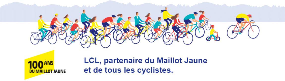 LCL, partenaire du Maillot Jaune et de tous les cyclistes