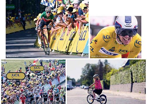 LCL s'engage pour le Maillot Jaune et les cyclistes du quotidien