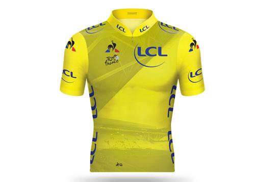 Maillot Jaune millésimé du Tour de France 2019 : Étape 9